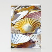 shells Stationery Cards featuring Shells by jacqi