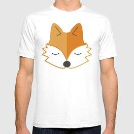 Cute Fox Head T-shirt