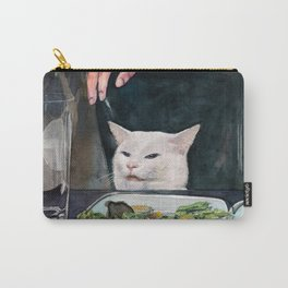 Woman Yelling at Cat Meme-2 Carry-All Pouch