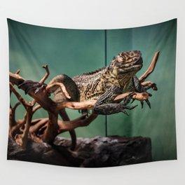 Languid Lizard Wall Tapestry