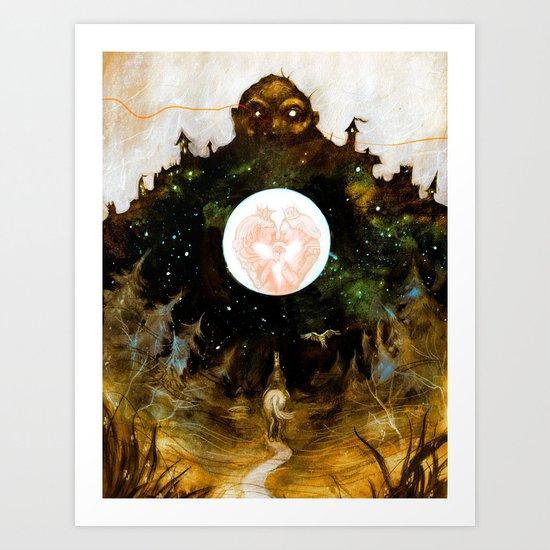 The Heartless Giant Art Print
