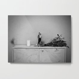 She who protects and helps Metal Print