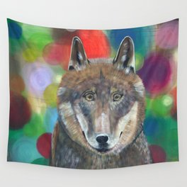 Happy Lupus Wall Tapestry