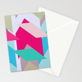 Abstracts colors Nr.3 Stationery Cards
