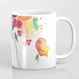 Abstract Bouquet Coffee Mug