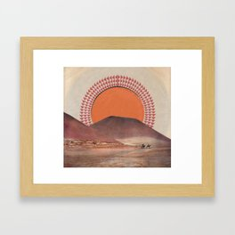 Sacaton Framed Art Print
