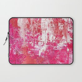 Roses Play Color On Ice Laptop Sleeve