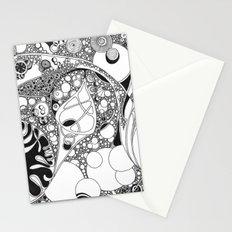 Circled circle Stationery Cards