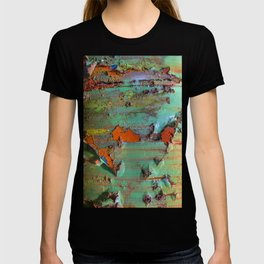 Flaking Paint on Rust T-shirt