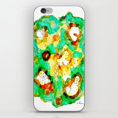 Verde que te quiero verde iPhone & iPod Skin
