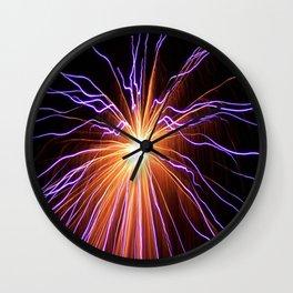 Electrostorm Wall Clock