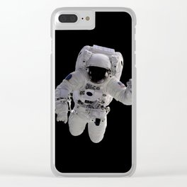 Astronaut Clear iPhone Case
