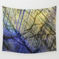 mineral Wall Tapestries featuring Mineral Stone by Santo Sagese