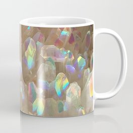 Unicorn Horn Aura Crystals Coffee Mug