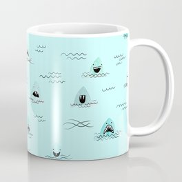 Sharkhead - Shark Pattern Coffee Mug