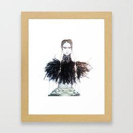 Alexander McQueen AW15/16 Framed Art Print