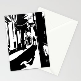Dark Alley Stationery Cards