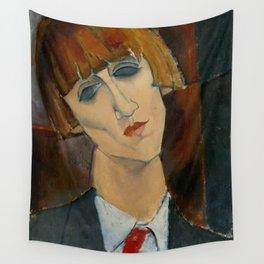 "Amedeo Modigliani ""Madame Kisling""(1917) Wall Tapestry"