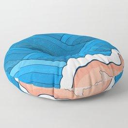 Seaside Beach Floor Pillow