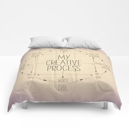 My Creative Process Comforters