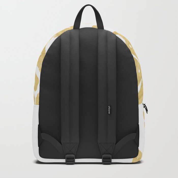 Delicate Monstera Golden #society6 Backpack