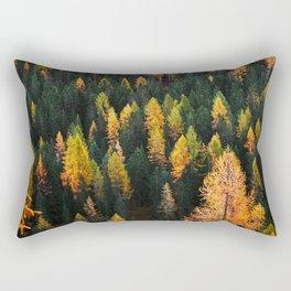 Autumn Lines (Nature Photography) Rectangular Pillow