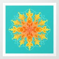 Sacred Sunshine  Art Print