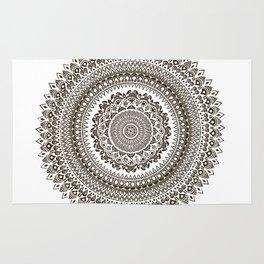 Mandala Illustration Rug