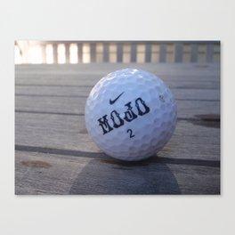 Mojo Golf Ball Canvas Print