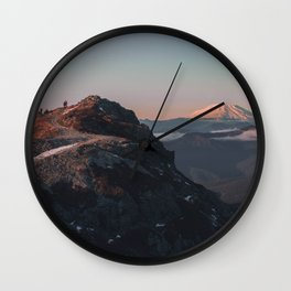 Silver Star Wall Clock