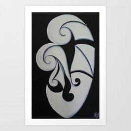 Whanau Art Print