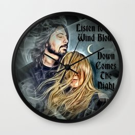 Stevie Nicks & Dave Grohl - Listen to the Wind Blow ~ Wall Clock
