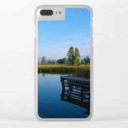 reflection of soul Clear iPhone Case