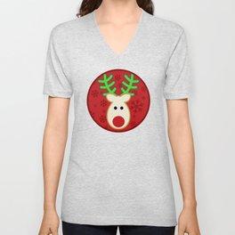 Rudolph the Reindeer Unisex V-Neck