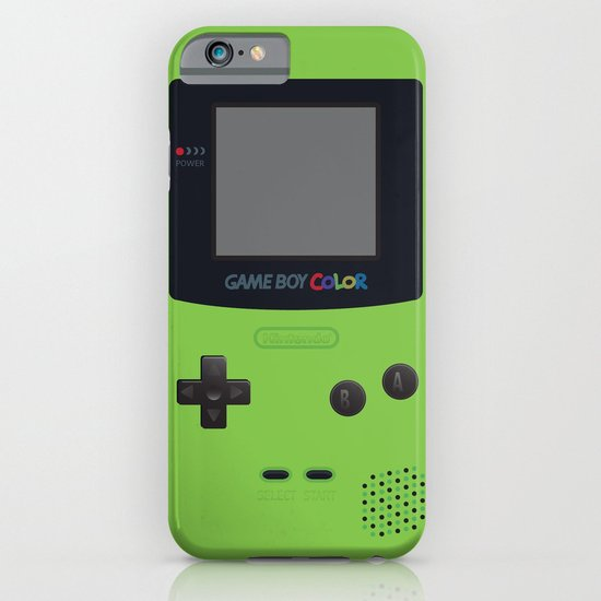 gameboy color green iphone amp ipod case by cedric s