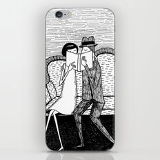 The Reading Lovers iPhone & iPod Skin