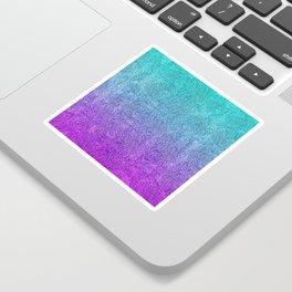 Tropical Twilight Glitter Gradient Sticker