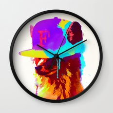 Foxey's Favorite Cap Wall Clock