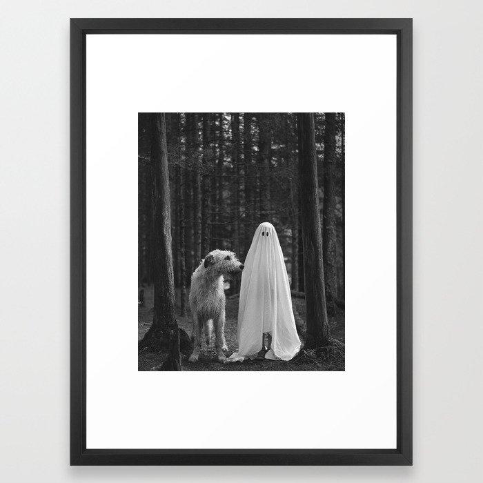 Boo! Framed Art Print