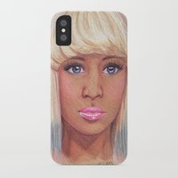 nicki iPhone & iPod Cases featuring Onika by Angelica