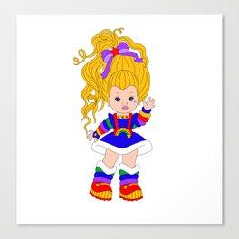 Lil Miss Brite Canvas Print