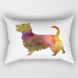 Australian Terrier in watercolor Rectangular Pillow