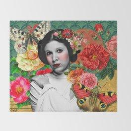 Blooming Leia Throw Blanket
