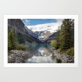 Lake Louise Afternoon Art Print