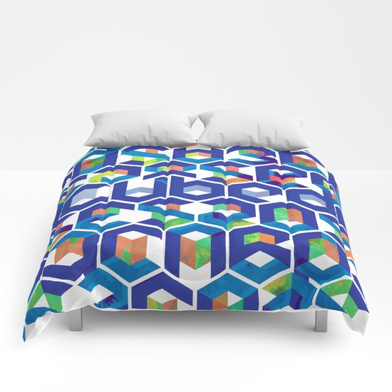 Cubed Balance Comforters