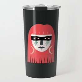 Lightning Bolt Girl Travel Mug
