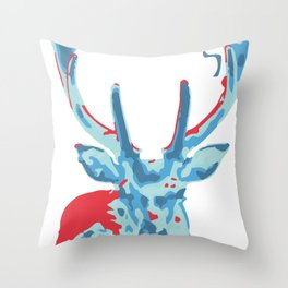 Love Deers Throw Pillow