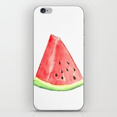 Watermelon Red Piece iPhone & iPod Skin