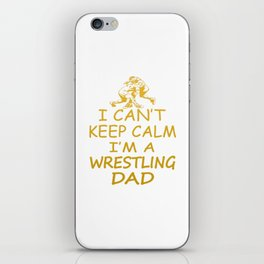 I'M A WRESTLING DAD iPhone Skin