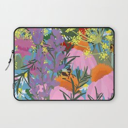 Aromatherapy for the Bees in Sky Blue Laptop Sleeve